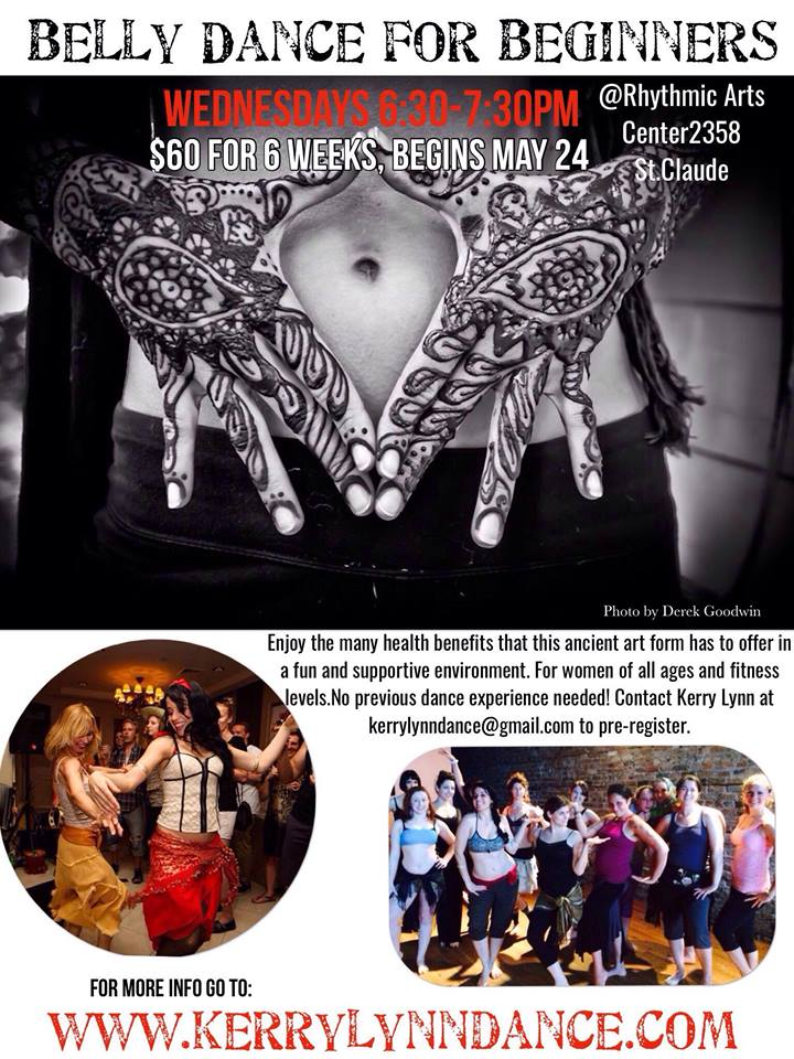 Beginning Belly Dance May 24